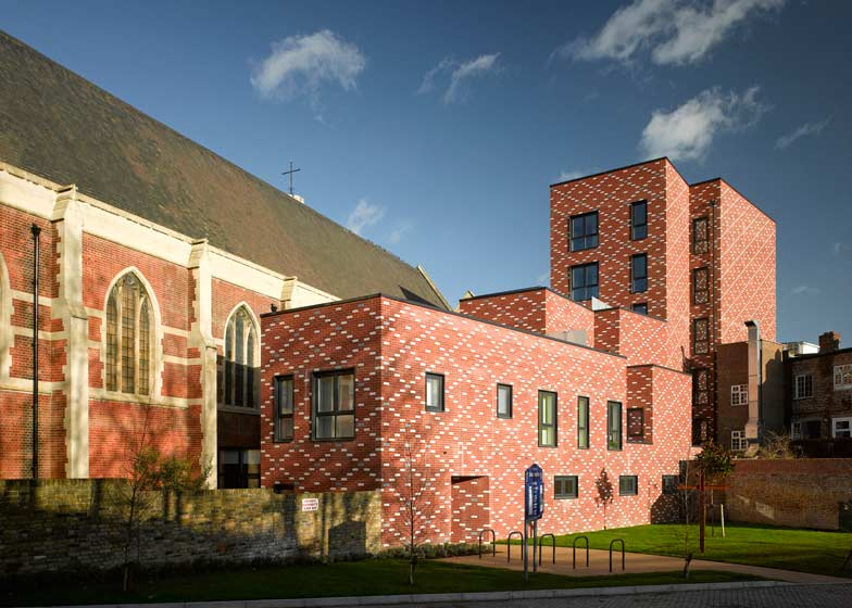 St Mary of Eton Church, Apartments and Community Rooms by Matthew Lloyd Architects LLP