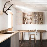 """Sebastian Cox's """"urban rustic"""" kitchen for DeVol features sawn and woven timber"""