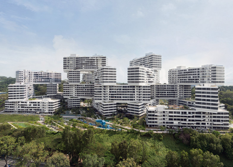 The Interlace by OMA and Ole Scheeren