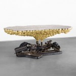 "Studio Job sculpts ""autobiographical"" Train Crash Table"