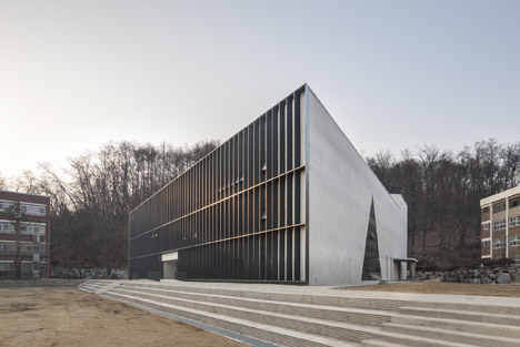 Triangle School by Nameless Architecture