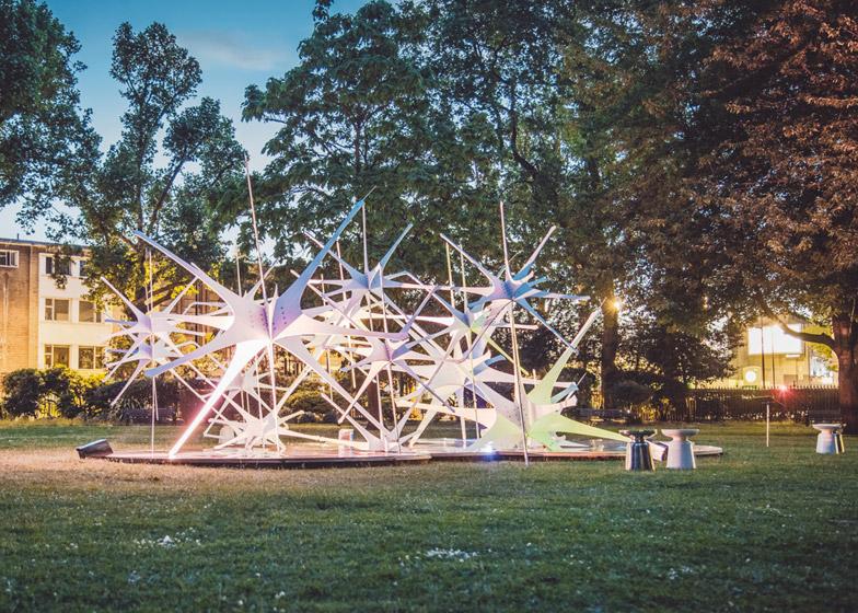 Triumph Pavilion by Nonscale