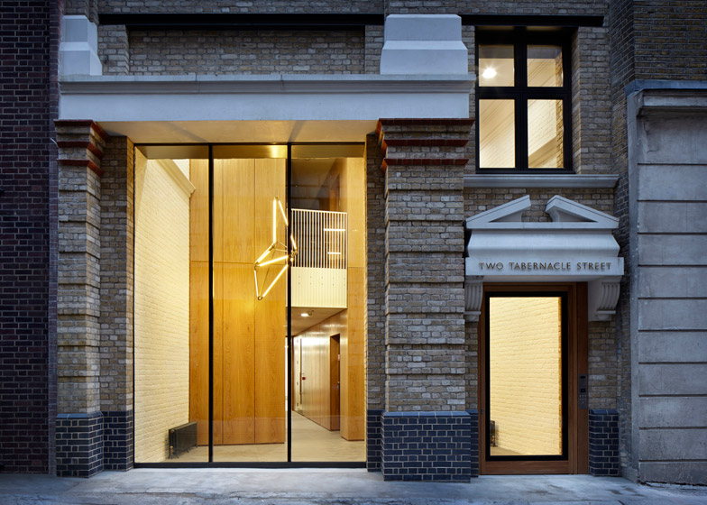Two Tabernacle Street by Piercy & Company