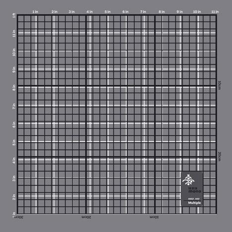Unamono pocket square by Freisteller Spiekermann
