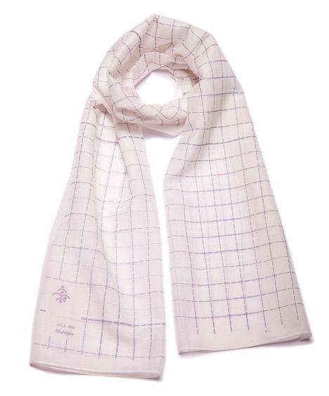 Unamono scarf by Freisteller Spiekermann