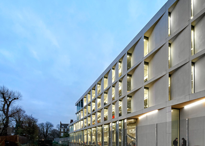 University of Greenwich Stockwell Street Building by Heneghan Peng architects