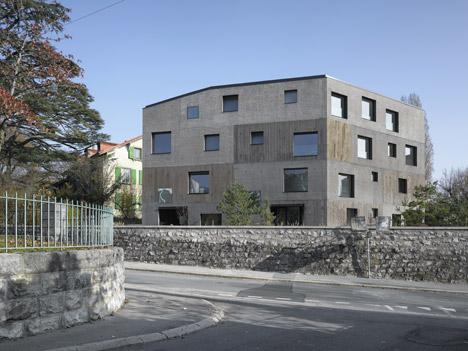 Urban Villa 4 in 1 by 2b Architectes