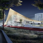 BIG unveils transport hub for one of Sweden's biggest cities