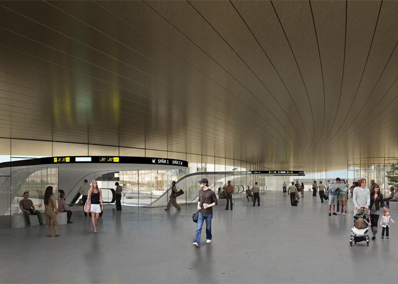 Västerås Travel Center by BIG