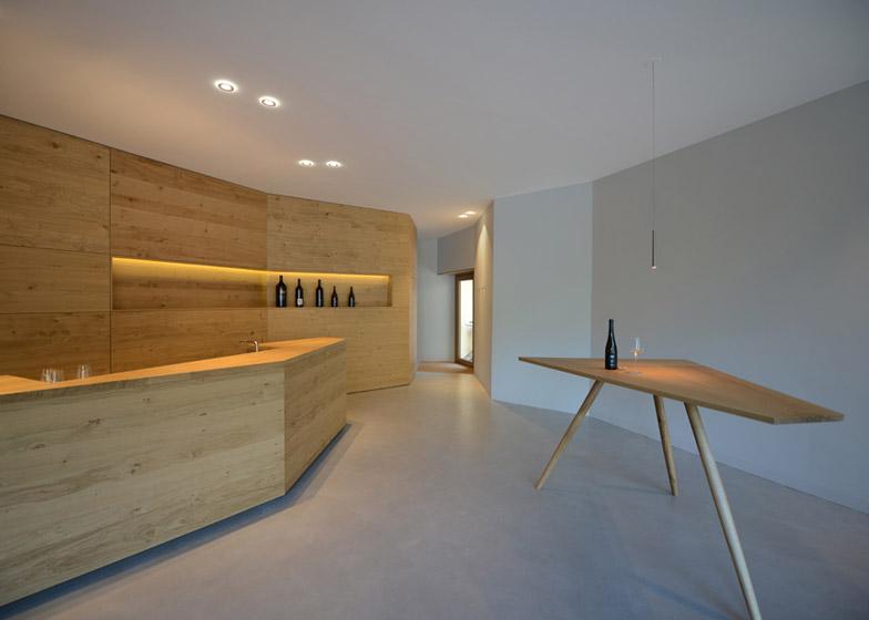 Vineyard Högl by Ludescher-Lutz Architects