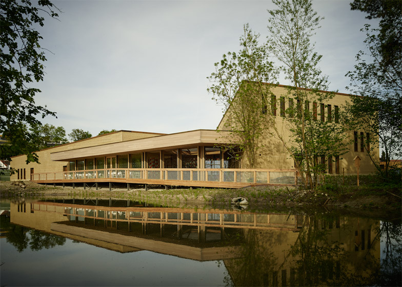 Swiss Ornithological Institute Visitor Centre by MLZD
