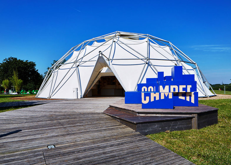 Camper pop-up at the Vitra Campus