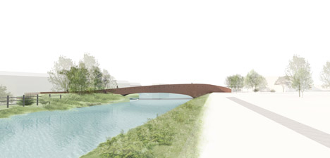 Vlotwateringbridge bat bridge by Next Architects