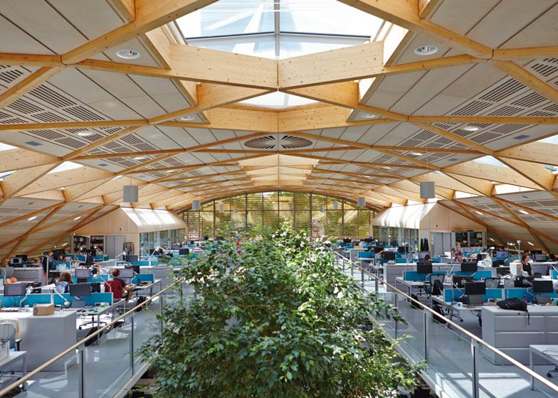 WWF UK Headquarters Living Planet Centre by Hopkins Architects
