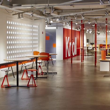 The Knoll showroom at NeoCon 2015