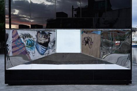 5CUBE Energy Pavilion by de Siún Scullion Architects