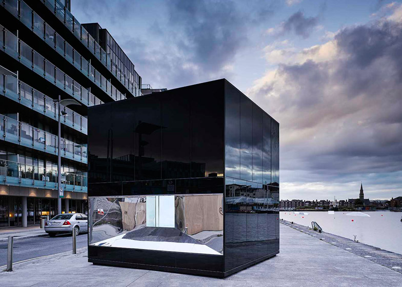 5CUBE Energy Pavilion by de Siún Scullion Architects