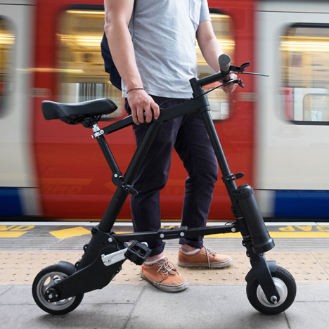 A-Bike electric bicycle by Clive Sinclair
