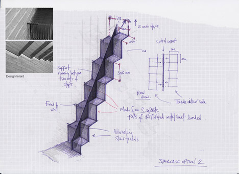 A Stair for Redliffe Square by DBLO