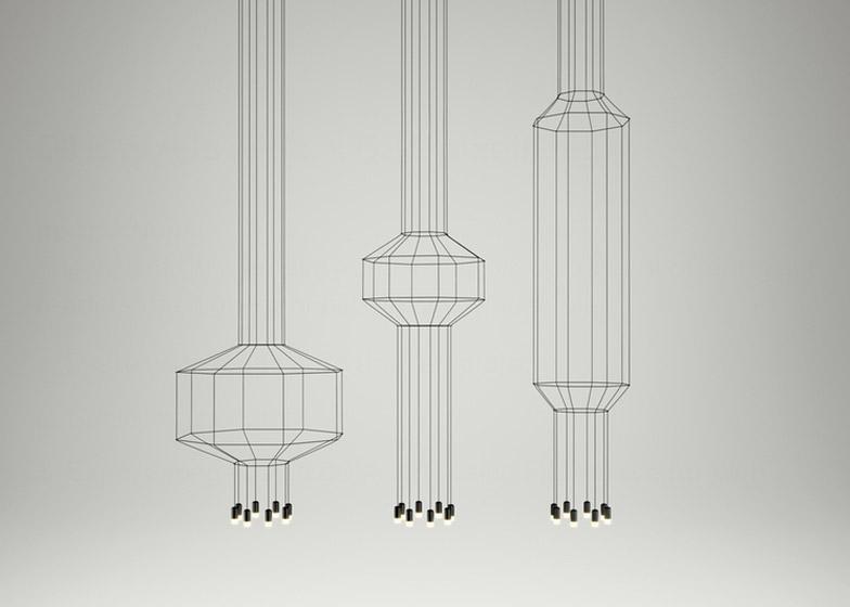 Wireflow by Arik Levy – winner of Lighting Fixtures category