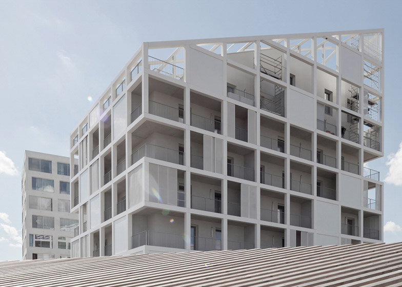 Oiseau des Îles Social Housing by Antonini Darmon – winner of Residential Architecture, multi-use category