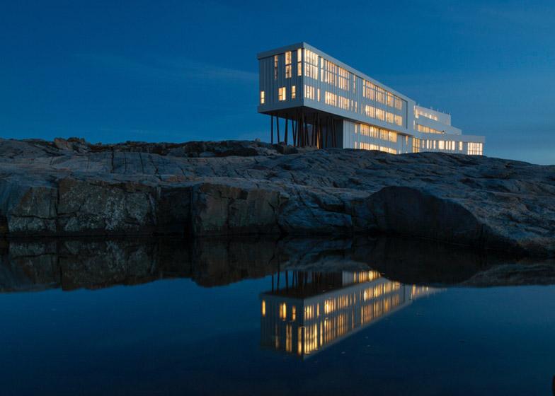 Fogo Island Inn by Saunders Architecture – winner of Social Good Award category