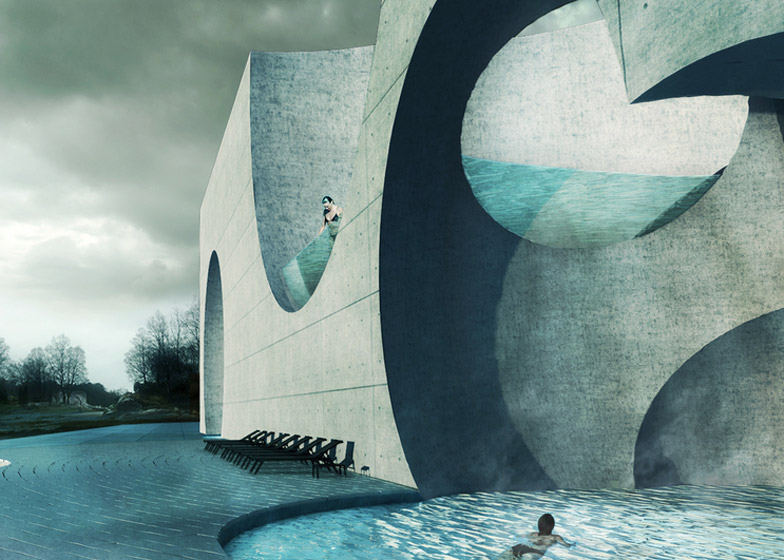 Liepaja Thermal Bath by Steven Christensen Architecture – winner of Unbuilt Competition Entries category