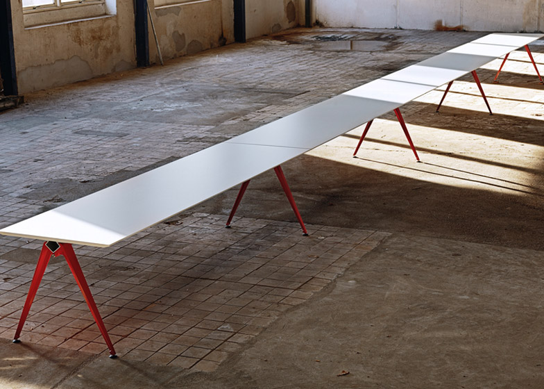 Grip Tablesystem by Randers + Radius – winner of Furniture Systems category