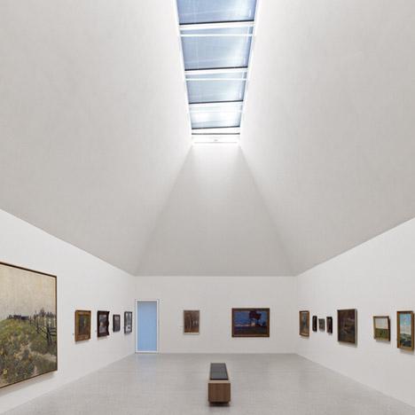Art Museum Ahrenshoop by Licht Kunst Licht – winner of Lighting Installations category