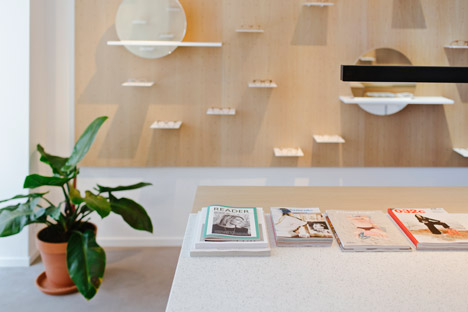Ace &amp Tate flagship store by Occult Studio