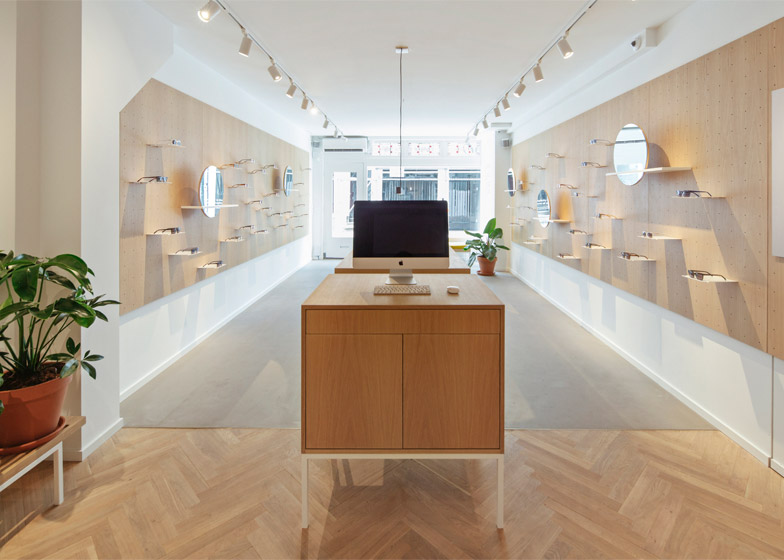 Ace & Tate flagship store by Occult Studio