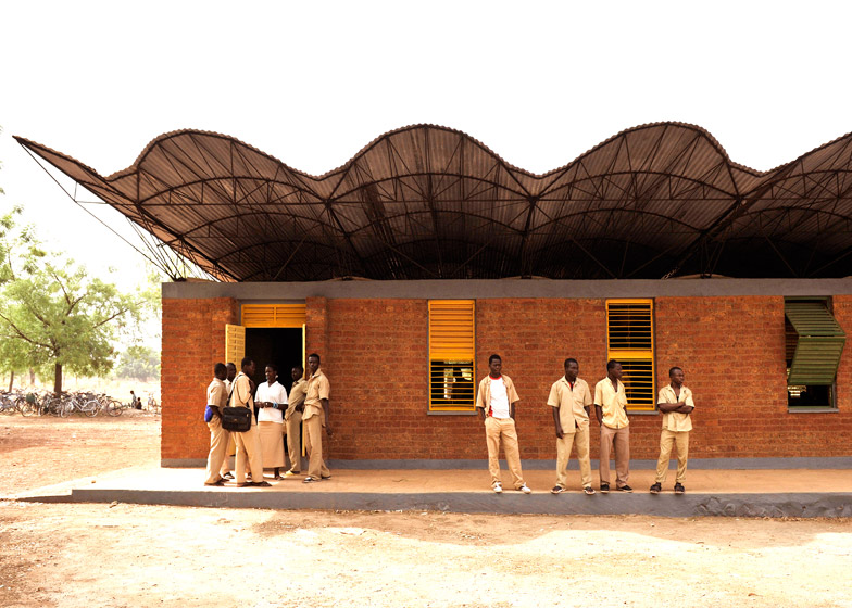 Dano Secondary School, Burkina Faso by Kéré Architecture, 2007. Photograph by Kéré Architecture