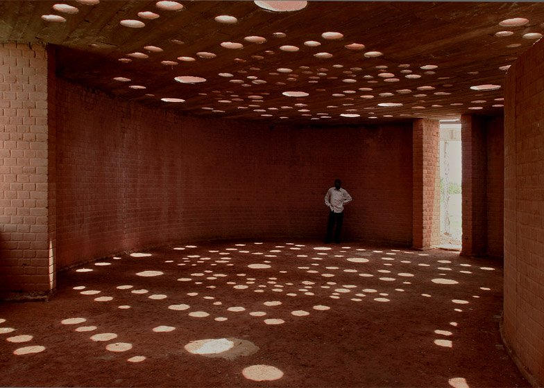 Gando School Library, Burkina Faso by Kéré Architecture, 2012. Photograph by Erik-Jan Ouwerkerk