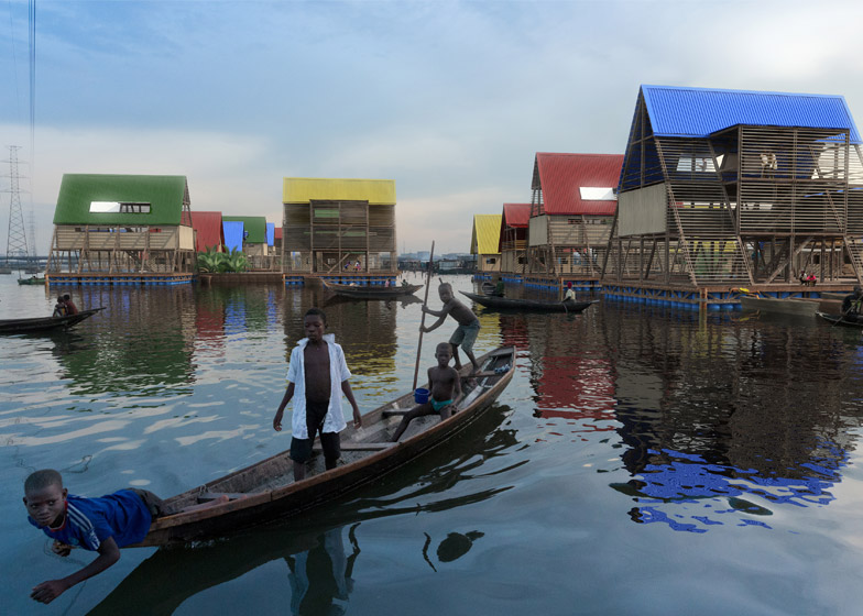 Rendering of Makoko Delta by NLE, 2014