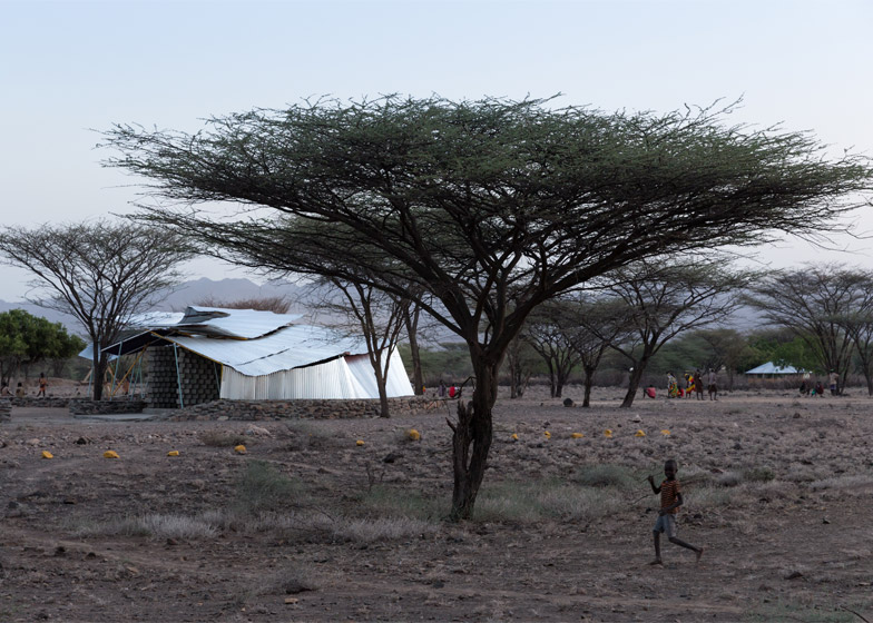 Konokono Vaccination and Educational Clinic by SelgasCano and MIT student, Kenya, 2014. Photograph by Iwan Baan