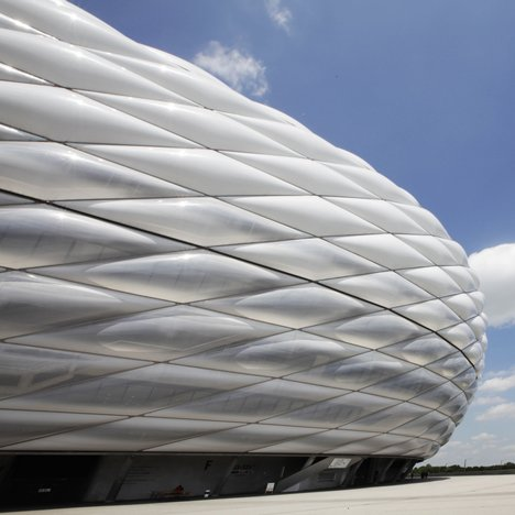 The Allianz Arena is home to both FC Bayern Munich and TSV 1860 Munich