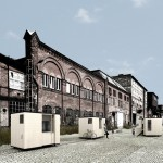Expanding micro homes could move around on a network of railway tracks