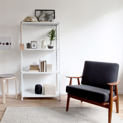 Apartment styled by Sarah Van Peteghem