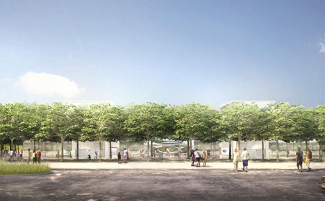 Plans unveiled for visitor centre with rooftop viewing terrace at new Apple campus