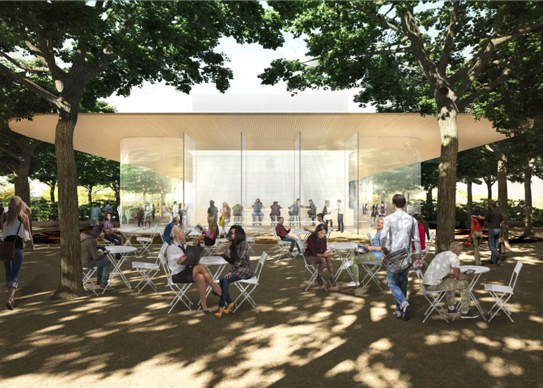 Apple campus visitor centre