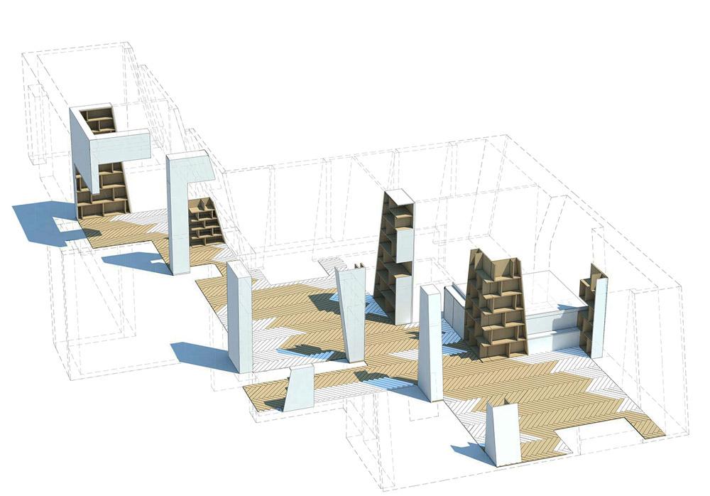 Arsenal Flat By H2o Architectes_dezeen_0