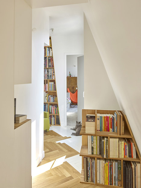 Arsenal Flat by h2o architectes