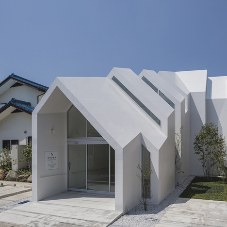 House-shaped clinic designed by Hkl Studio to make elderly patients feel more at home