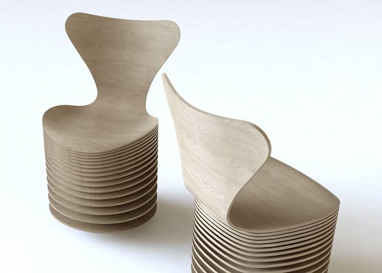 Zaha Hadid, BIG and others reinterpret Arne Jacobsen's Series 7 chair for Fritz Hansen