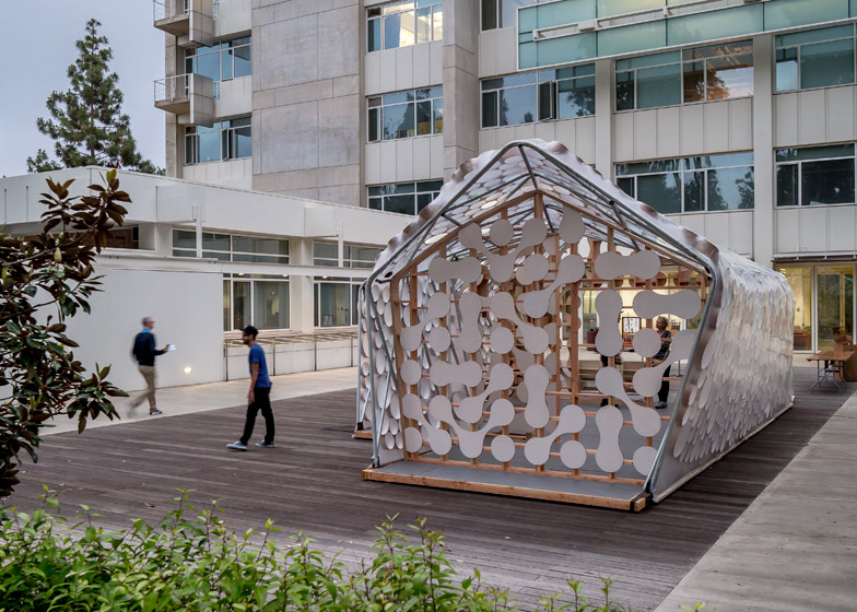 Backyard BI(h)OME micro home by UCLA cityLAB