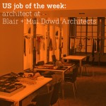 US job of the week: architect at Blair + Mui Dowd Architects