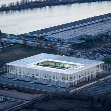 Bordeaux Stadium by Herzog &amp de Meuron