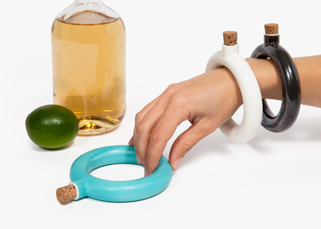 Bracelet Flask by Object and Totem
