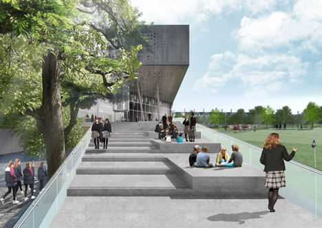 Brighton College by OMA