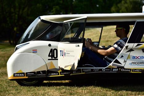 BvOF Stella Lux Solar Car Solar Team Eindhoven